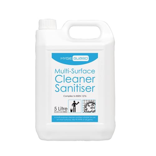 Hygieguard (Greyland) Multi Surface Cleaner Sanitiser 5 Ltr