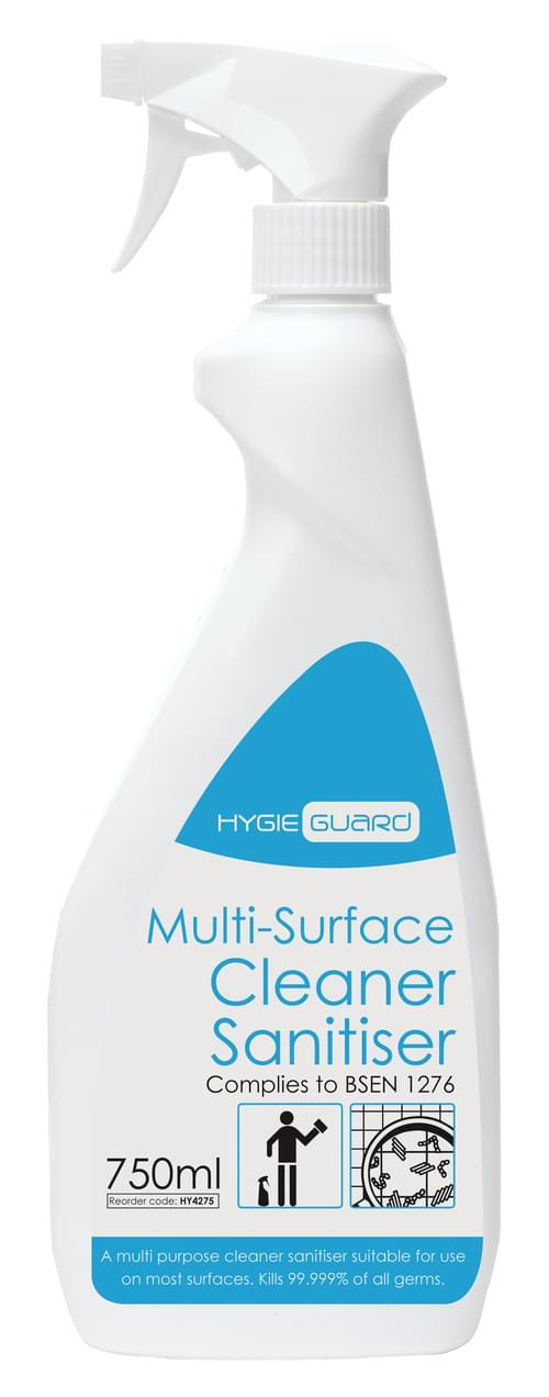 Hygieguard (Greyland) Multi Surface Cleaner Sanitiser 750ml