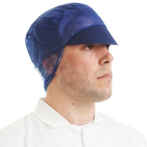 SNOOD CAP NON WOVEN BLUE