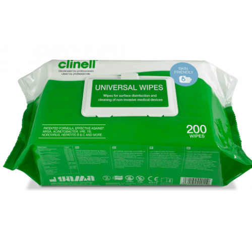 Clinell Universal Wipes Pk200