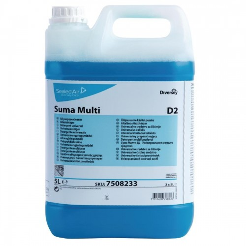Suma D2 All-Purpose Cleaner Concentrate 5Ltr (2 Pack)