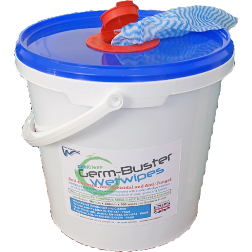 Germbuster Wetwipes Tub500