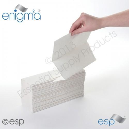 Hand Towel White M-Fold 2ply
