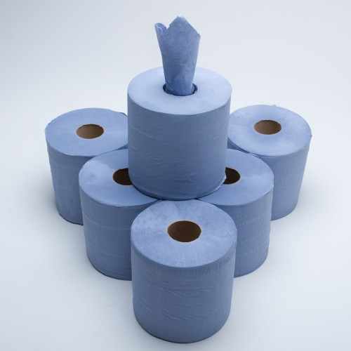 Blue Centre Feed Roll 2ply 150m