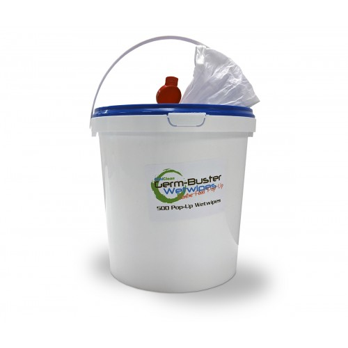 Disinfectant Wipes Tub of 500