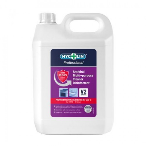 V2 Hycolin Professional Antiviral Multipurpose Cleaner Disinfectant (2x5L)