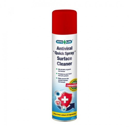 V11 Hycolin Professional Antiviral 'Quick Spray' Surface Disinfectant (12x300ml)
