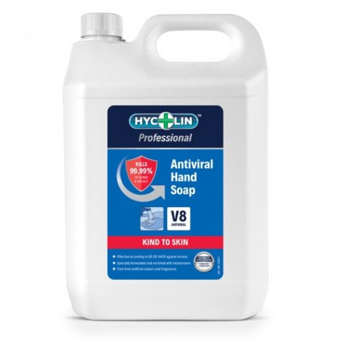 V8 Hycolin Professional Antiviral Hand Soap (2x5L)