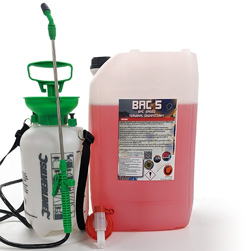 BAC5 Terminal Disinfectant Kit