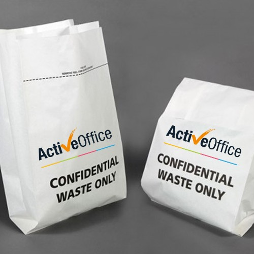 Confidential Paper Shredding Sack