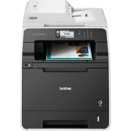 Brother DCP-L8400CDN Colour Laser All-in-One Printer Duplex Network Black DCPL8400CDNZU1