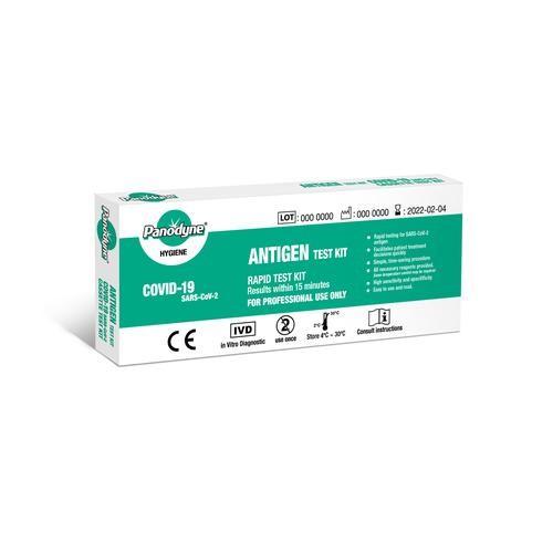 Panodyne SARS-CoV-2 / Covid-19 Antigen Rapid Lateral Flow Single Test Kit Medical Tests 85555XX-99