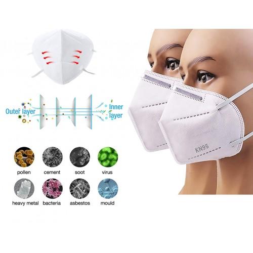 FFP2 Face Mask White Pack of 2