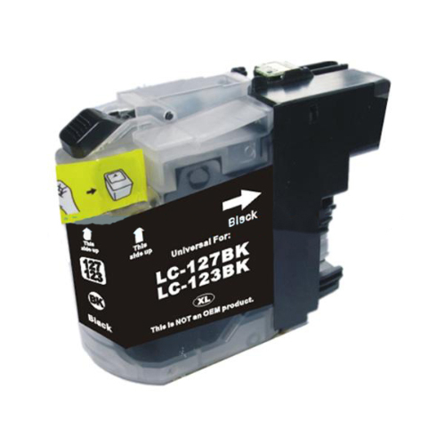 Compatible Brother LC123BK Black Ink Cartridge