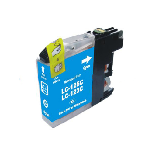 Compatible Brother LC123C Cyan Ink Cartridge