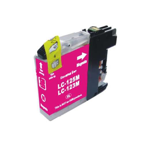 Compatible Brother LC123M Magenta Ink Cartridge Inkjet Cartridges SPS02545