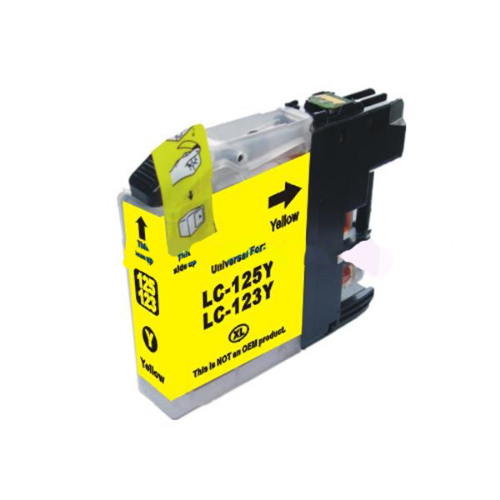 Compatible Brother LC123Y Yellow Ink Cartridge