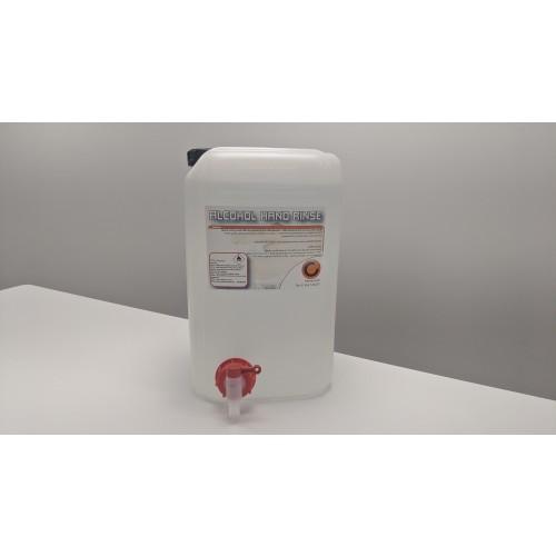 Alcohol Hand Sanitiser Rinse with Tap 25ltr Sanitiser & Dispensers AO0400334