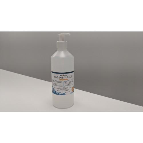 Alcohol Hand Sanitiser Gel 500ml pump Sanitiser & Dispensers AO0400375