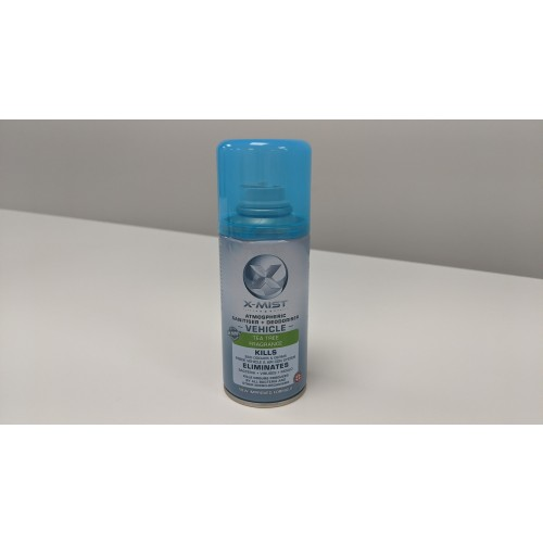 X-Mist Vehicle Sanitiser 150ml can