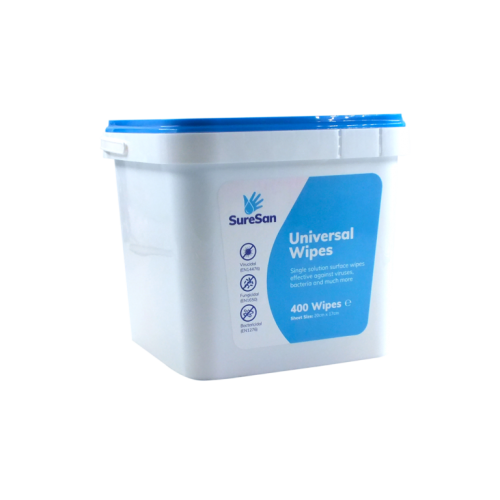 SureSan Universal Wipes - Tub of 400