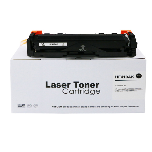Compatible HP CF410A Black Standard Yield Toner for HP 410A