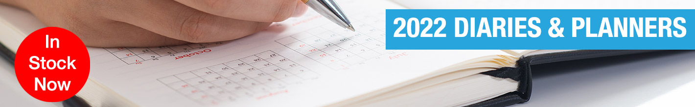 Diaries & Planners for 2022