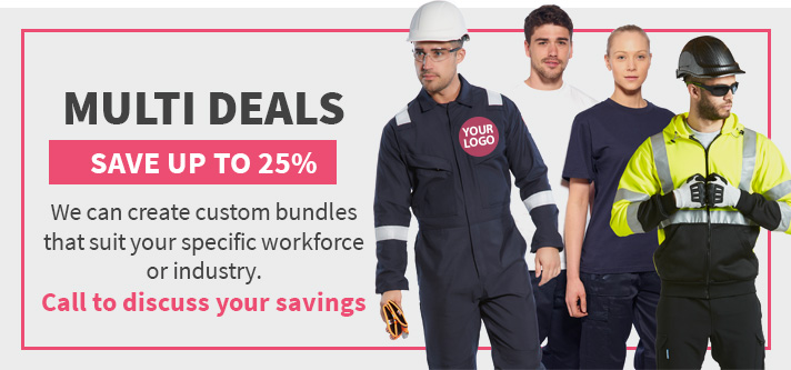 Save on Workwear  with our multi deals
