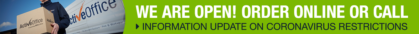 Coronavirus Update - We are open as normal - more information