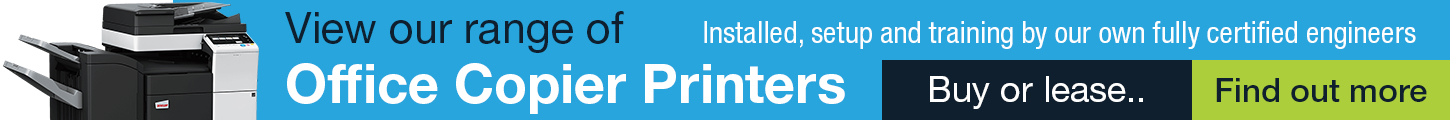 Print , Scan and Copy - Buy or lease a copier from Active Office Scotland