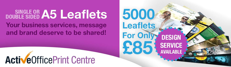 5000 Leaflets Offer