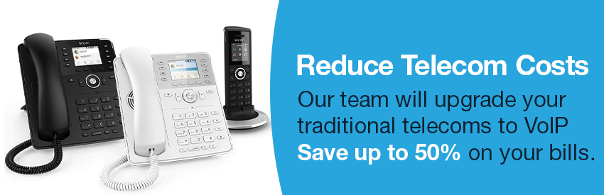 Reduce business telecom costs with modern business VoIP