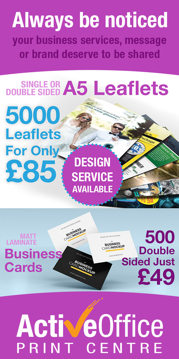 500 Business cards and 5000 Leaflets Offer
