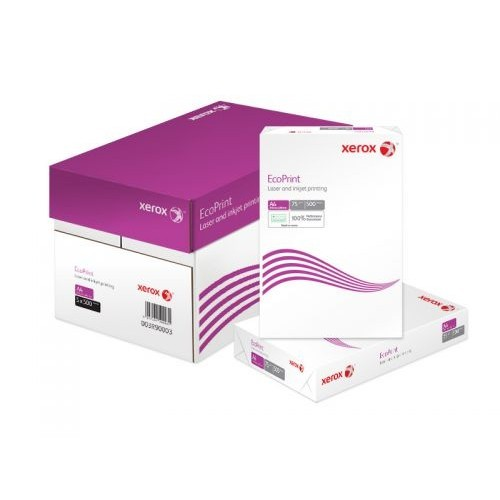 Xerox Ecoprint White 003R90003 A4 Paper 210x297mm Box of 2500 sheets (5x500)
