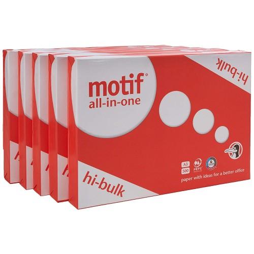 Motif Copier A3 Paper 80gsm White Ream (Pack 500) DM2468