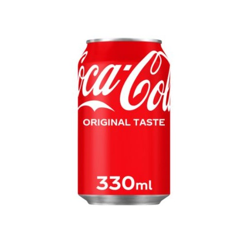Coca Cola Original Drink 330ml Can Pack 24
