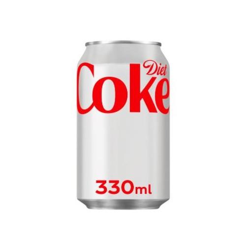 Coca Cola Diet 330ml Cans Pk24