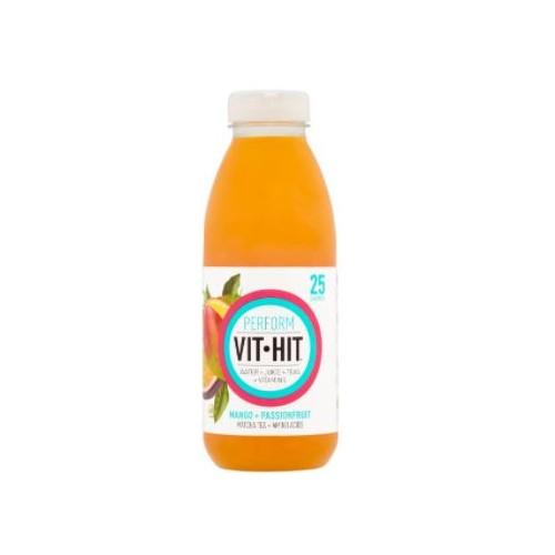 VIT HIT Drink PERFORM Mango & Passionfruti with Matcha Tea 638459 500ml PK12