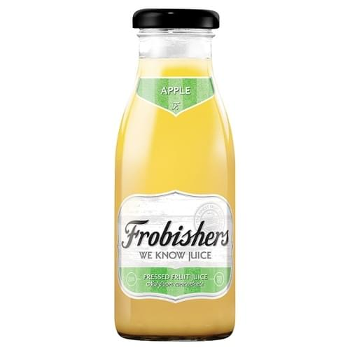 FRUBISHERS APPLE JUICE 250ML BOTTLES PK12