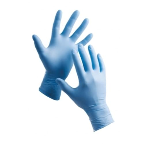 NITRILE POWDERFREE GLOVES SIZE 7 PACK 100