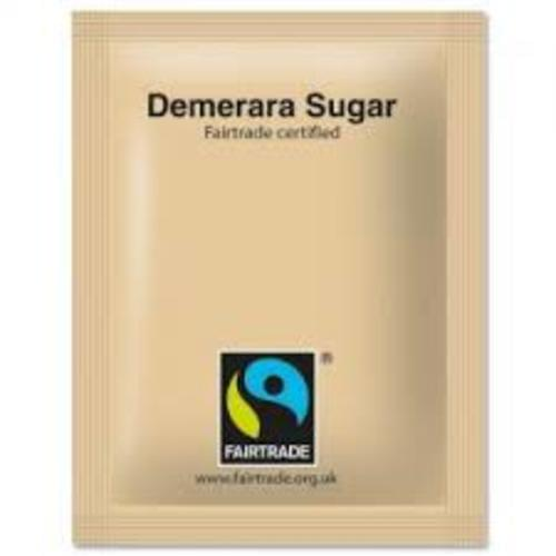 Fairtrade Sugar Sticks Brown Demerara Ref A03621