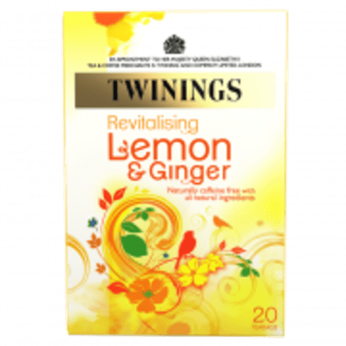 Twinings Infusion Tea Bags  Lemon and Ginger