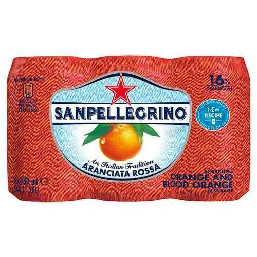 SAN PELLEGRINO SPARKLING FRUIT ARANCIATA 300ML PK24