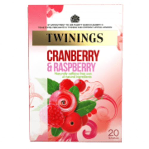 Twinings Infusion Tea Bags  Cranberry and Raspberry