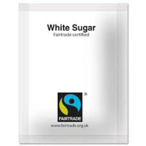Fairtrade Sugar Sticks White Ref A03620