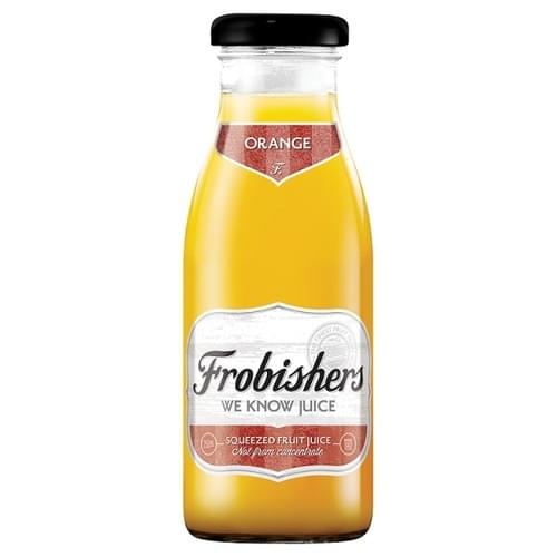 FROBISHERS ORANGE JUICE BOTTLE 250ML PK12