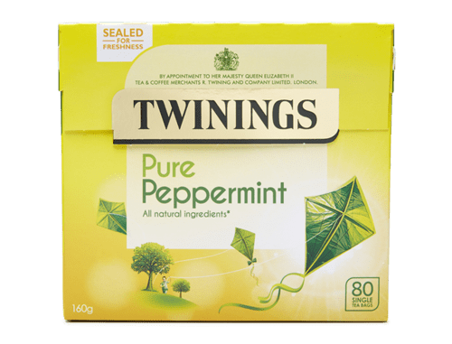 Twinings Pure Peppermint Teabags PK80