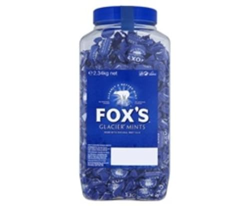 FOXES GLACIER MINTS 2.34K TUB