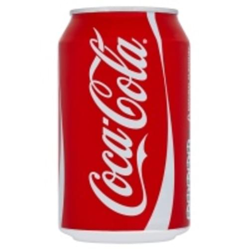 COCA COLA CANS 330ML PK24