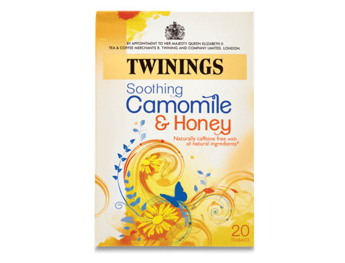 TWININGS SOOTHING CAMOMILE AND HONEY - 20 TEABAGS